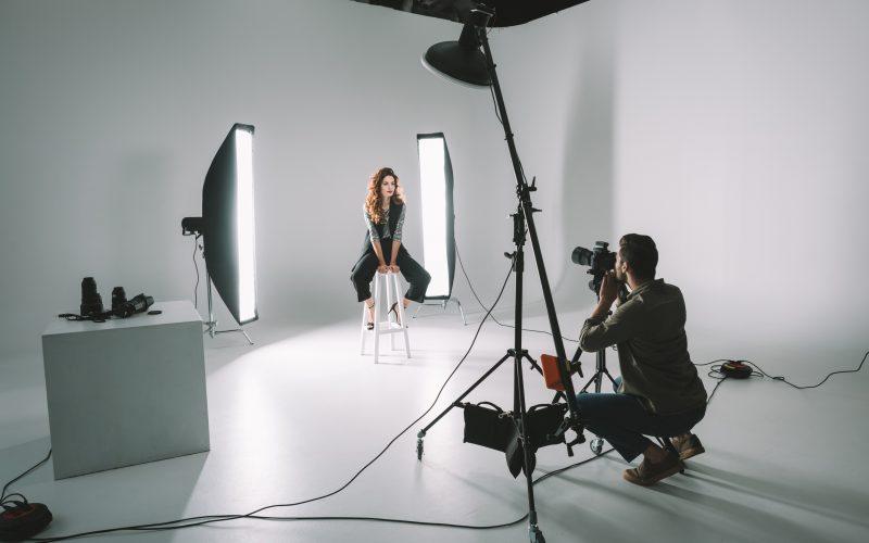 professional fashion shoot
